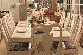 Paint Dining Room Table Photo