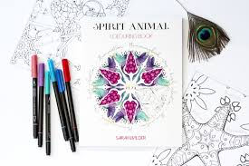 Get My Spirit Animal Coloring Book And Discover Your Own Messenger