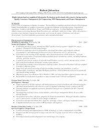 Qa Tester Entry Level Resume Template Testing Sample