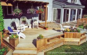 The 5 Factors You Need To Know That Determine A Deck's Cost ... Pergola Awesome Gazebo Prices Outdoor Cool And Unusual Backyard Wood Deck Designs House Decor Picture With Ultimate Building Guide Cstruction Cost Design Types Exteriors Magnificent Inexpensive Materials Non Decking Build Your Dream Stunning Trex Best 25 Decking Ideas On Pinterest Railings Decks Getting Fancier Easier To Mtain The Daily Gazette Marvelous Pool Beautiful Above Ground Swimming Pools 5 Factors You Need Know That Determine A Decks Cost Floor 2017 Composite Prices Compositedeckingprices Is Mahogany Too Expensive For Your Deck Suburban Boston