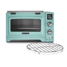 KitchenAid KCO275AQ Aqua Sky 12 Inch Digital Convection Countertop Oven