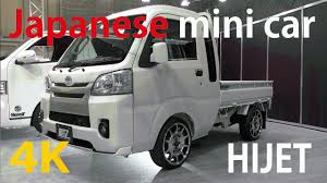 4K]Japanese Mini Truck (Kei Truck)Japan's Mini Car (kei Car ...