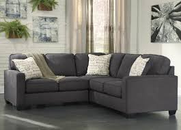 Ashley Levon Charcoal Sofa Sleeper by Signature Design By Ashley Alyssa Charcoal 2 Piece Sectional With
