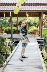 Asian Inspired Dress at the Naples Botanical Garden KylenEveryWear