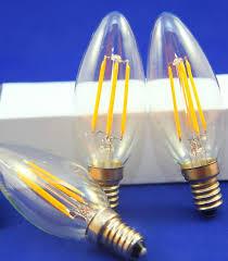 new filament led bulb e14 e12 5w dimmable chandelier led ce rohs