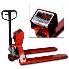 100 Pallet Truck Ntep Jack Scales With Indicator Portion Control Scale