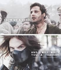 Rip My Heart Out And Shatter It Into A Million Pieces Because Thats What Love For Bucky Feels Like