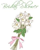 Bouquet Bridal Shower Invitations To Print