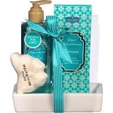 Sunflower Bath Gift Set by Debra Valencia For Aromanice Mint Sunflower Glow Bath Gift Set 11