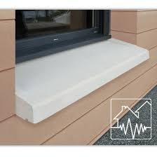appui de fenêtre en reconstituée pour zones sismiques