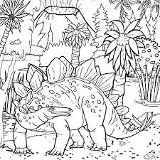Dinosaurs Coloring Pages Printable With Names Cute Dinosaur Free Pdf