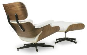 Eames Replica Lounge Chair (White Leather) | Furniture & Home Décor ... White Ash Eames Lounge Chair Ottoman Hivemoderncom Replica Ivory And Herman Miller Chicicat Collector And Black 100 Leather High Quality Base Prinplfafreesociety Husband Wife Team Combine To Create Onic Lounge Chair The Interiors Chairs