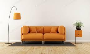 modernes wohnzimmer mit orangefarbener foto archideaphoto auf envato elements