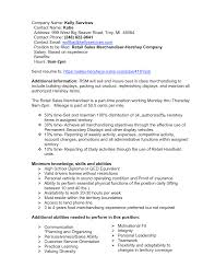 Resume For Sales Position Work Template
