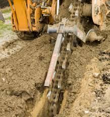 exterior drain tile and drain bbp plumbing