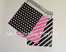 Decorative Flat Poly Mailers by Shipping Bags Etsy