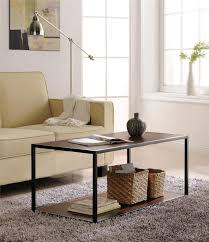 dorel canton coffee table with metal frame multiple colors