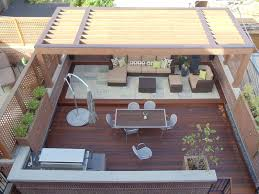 Ipe Deck Tiles This Old House by This Contemporary Garage Roof Deck Features A Sleak Cedar Pergola