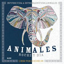 Animales Noche Y Día Libro Para Colorear Amazones