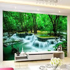 tapeten eigene 4d wallpaper im querformat wasserfall wasser