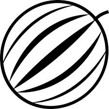 Watermelon clipart icon 3