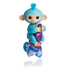 Fingerlings Glitter Monkey 2017 Turquoise 2018