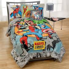 Full Size Superhero Bedding