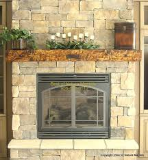 fantastic fireplace mantel shelf kits feature brown stone tiles