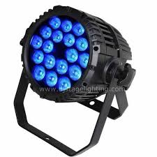 18x10W RGBW 4in1 LED PAR Can Waterproof IP65 for sale with cheap Price