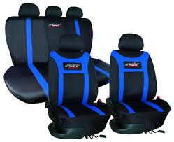 housse si e voiture housse de siège type h tissu noir bleu housses pour siège auto