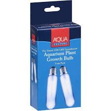 aqua culture aquarium plant growth bulb 2 ct walmart