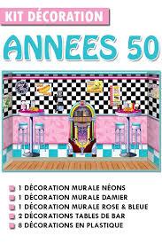 deco americaine annee 50 kit décoration ées 50 magic