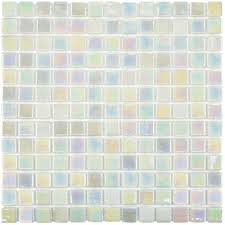 Mother Of Pearl Large Subway Tile by Merola Tile Ruidera Square Mother Of Pearl 13 In X 13 In X 5 Mm