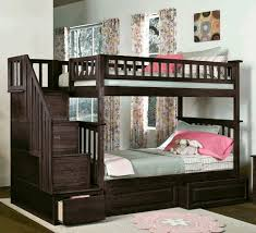 Bedrooms With Slanted Ceilings Long Light Brown Wooden Bench Rose