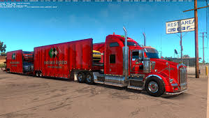100 American Trucking Truck Simulator Kenworth T800 Beta ATS Mods