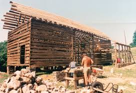 A Double Pen Log Barn... Part 16 - Handmade Houses... With Noah ... We Design And Build Barns Precise Buildings 35 Best Swedish Log Cabin 1638 Images On Pinterest Cabins Building A Barn Part 1 Country Living Garlic Farming In Bc How Much Does It Cost To A With Quarters House Plan Small Wooden Prefab Homes Shed Plans Your Outdoor Storage Free Metal Houses Interiors Pole Cstruction Youtube Best 25 Houses Ideas Cabin Homes Custom Garage