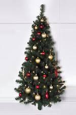4FT Pre Lit Wall Half Christmas Tree Light Up LED Lights Battery Op Space Saver