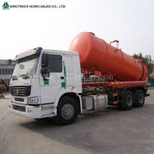 China 6X4 Sewage Suction Sewer Cleaning Tanker Truck Photos ...