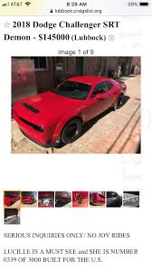 100 Lubbock Craigslist Cars And Trucks By Owner SOLD Demons Page 17 SRT Hellcat Forum