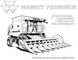 Coloriage Tracteur Avec Remorque Intérieur Dessin De Tracteur Avec
