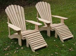 Classic Adirondack Chair In European Oak