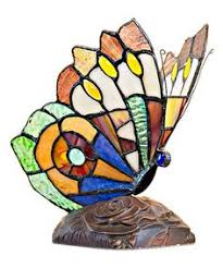 Quoizel Tiffany Lamp Shades by Details About Quoizel Tiffany Lamp Butterfly Stained Glass