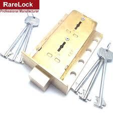 Door Locks Boxes Brass Lock For Safe Box Cabinet Door Use Both