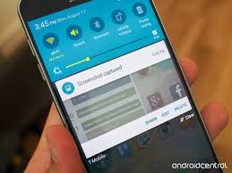How to take a screenshot on the Galaxy Note 5