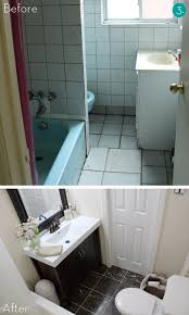 Small Bathroom Pictures Before And After by Small Bathroom Makeovers Before And After Photos Small Bathroom