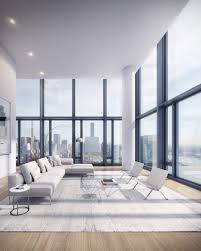 100 Richard Meier Homes Black Tower New York City By Partners Interiors In