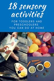 Sensory Activities At Home