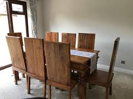 John Lewis Maharani 8 Seater Dining Room Set