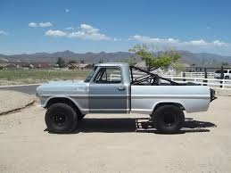 Awesome 1967 Bumpside Ford F-100 PreRunner | Ma's Dream | Pinterest ...