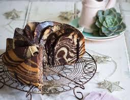 schokoladen vanille zebrakuchen